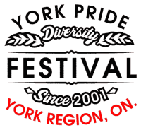 Sponsor of York Pride Fest, York Region's annual pride week festival (2015)